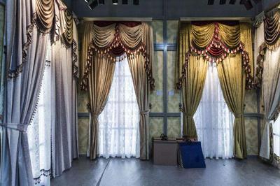 展厅窗帘设计效果图