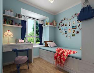 儿童房现代风格榻榻米图片