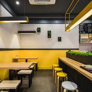 日式快餐厅装修效果图