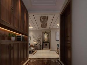 新中式别墅吊顶装修效果图赏析