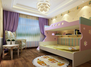 男儿童卧室装修效果图