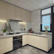 中式风格三居室厨房装修效果图