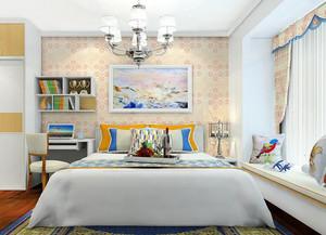 卧室温馨窗帘装修效果图