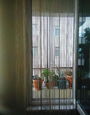 封闭阳台百叶窗效果图