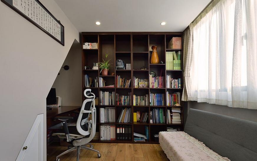 简约美式书房装修效果图赏析