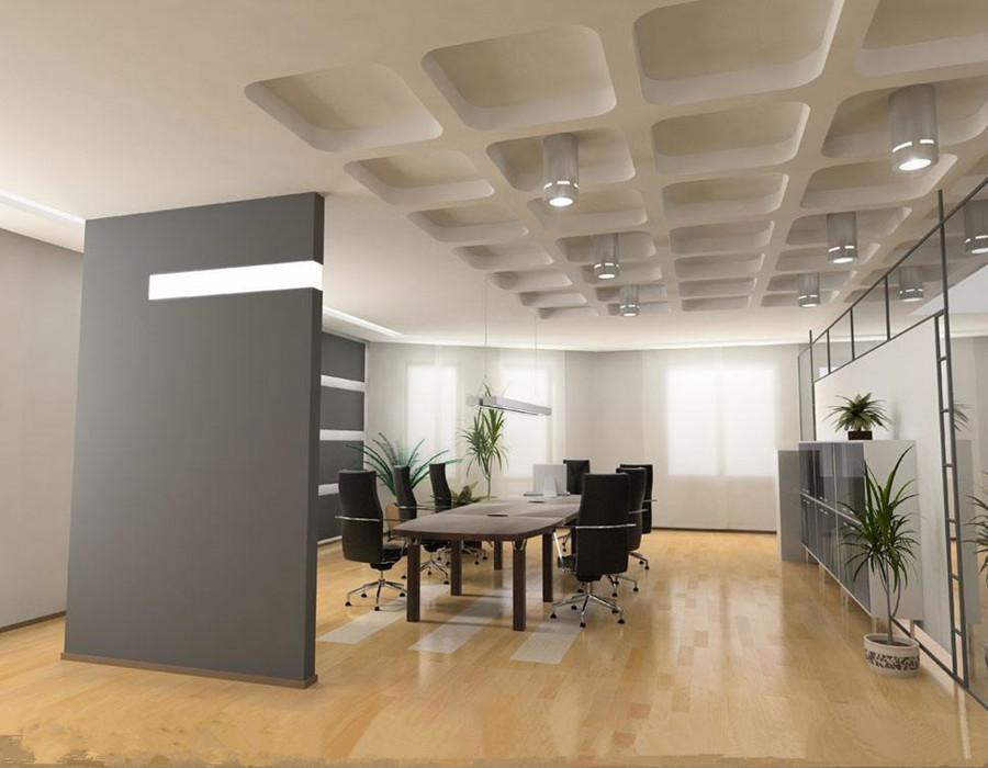 会议室屏风装修效果图