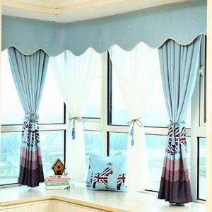 窗帘效果图2米