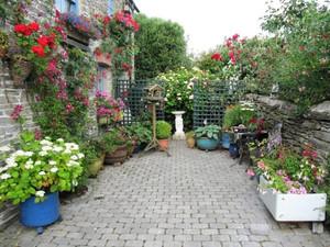 入户花园阳台装修效果图欣赏