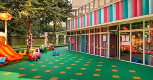 幼儿园室外装修效果图赏析