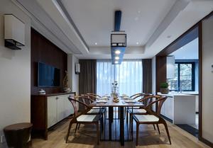 新中式大餐厅装修效果图欣赏