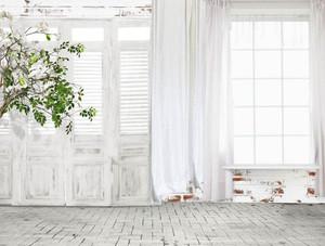 2018年新款窗帘简约白色