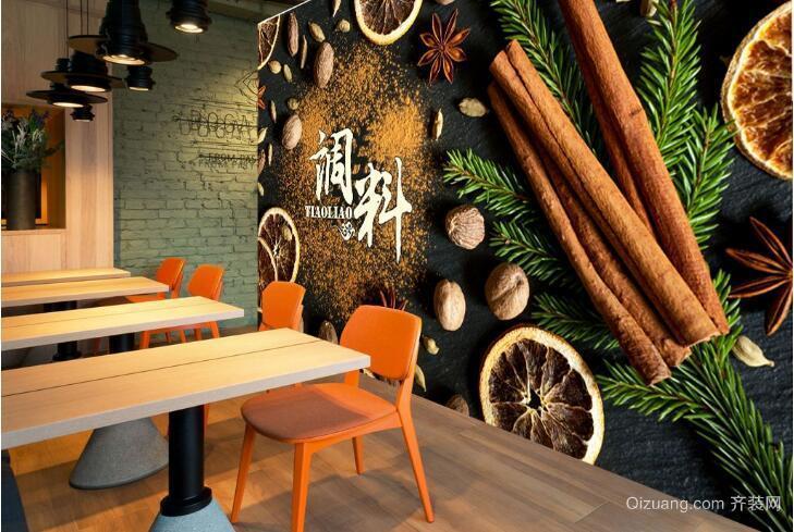 饭店壁画图片