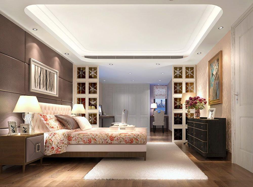 小美式卧室装修效果图