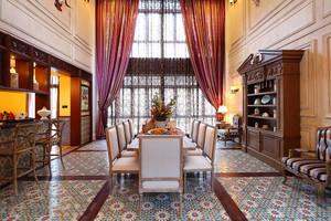 中式高档餐厅装修效果图
