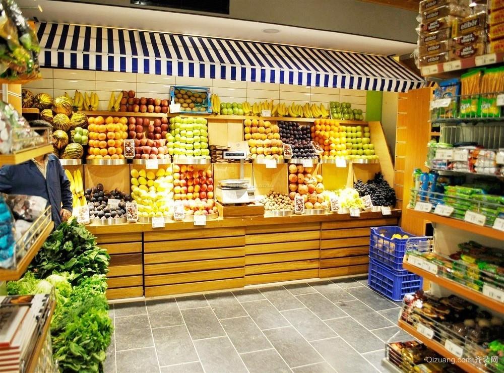 40平米水果店装修图片大全