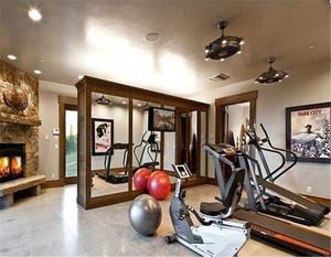 家装健身房装修效果图