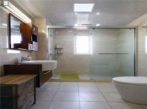干湿分离卫生间实景图
