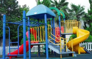 幼儿园滑梯装修效果图赏析