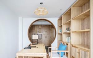 禅意中式书房装修效果图赏析