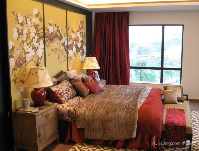 客厅卧室窗帘效果图