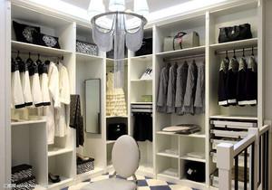 衣帽间装修整体衣柜
