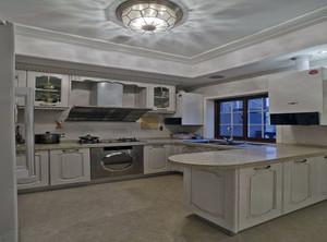 60平小户型开放式厨房装修效果图
