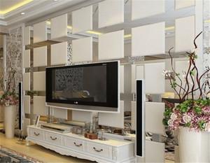 玻璃电视背景墙效果图