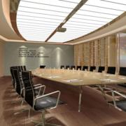 现代风会议室装修效果图赏析
