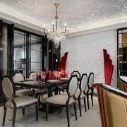 大户型欧式餐厅装修图片