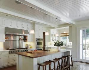 现代风格开放式厨房吊顶装修效果图赏析