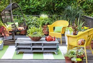 进门就是入户花园阳台效果图