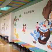 幼儿园墙绘装修设计效果图赏析