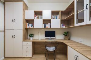 北欧三居室书房装修效果图赏析