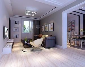 现代简约客厅吊顶装修效果图欣赏