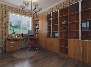 小户型简约风格书房装修效果图