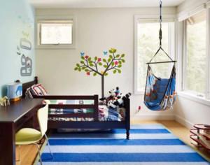 小户型自然风格儿童房装饰图