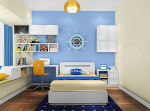 地中海风格儿童房装修效果图赏析