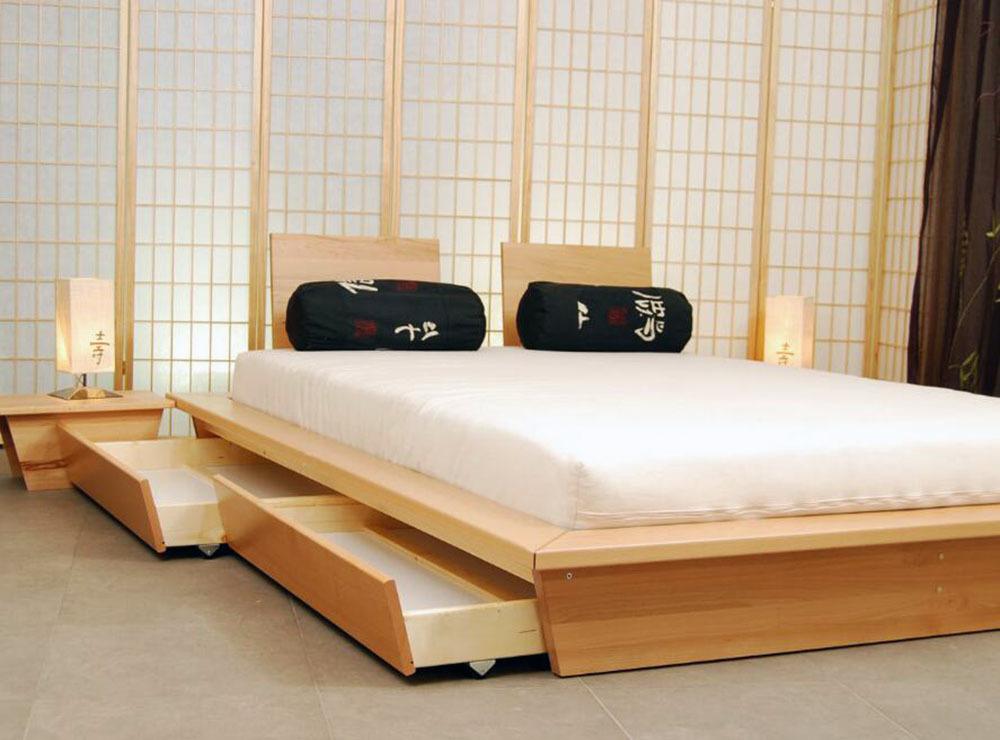 日式小清新卧室装修效果图