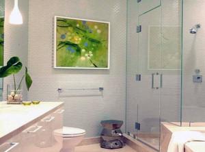 2平方卫生间带洗澡装修效果图