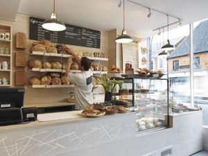 90㎡欧式面包店