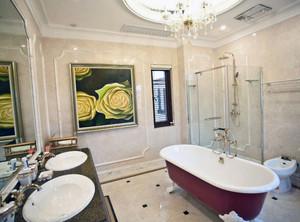 250平别墅卫浴装修效果图