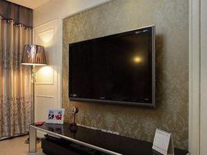 现代电视背景墙装修效果图