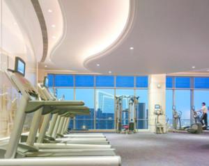 200平方现代健身房装修效果图