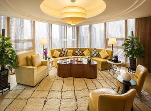 120平都市会客厅装修效果图