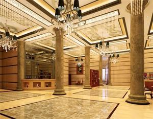 酒店大厅装修效果图