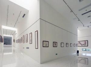 博物馆展示厅立体设计图