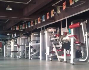 90平米都市健身房装修效果图