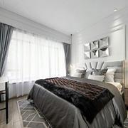 北欧风格卧室飘窗装修设计图
