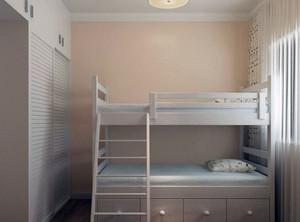 小户型双人儿童房装修效果图