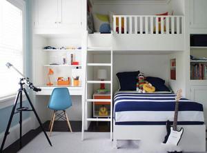 12平方兄妹共用儿童房装修效果图